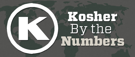The Kosher Spirit - Chanukah 5773/Winter 2013 - Kosher by the Numbers