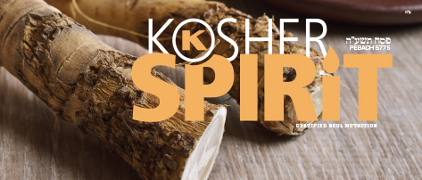 The Kosher Spirit - Pesach 5775/Spring 2015